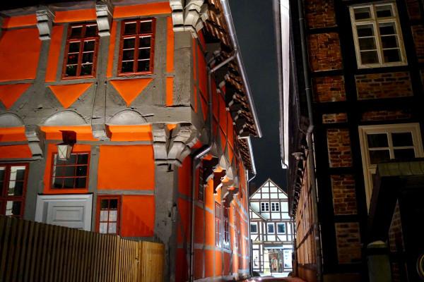 Blick auf die Gifhorner Altstadt. Foto: Jörn Pache