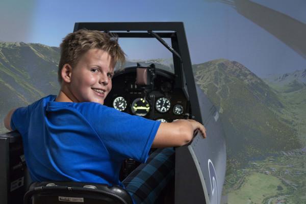 Erlebe im Flugsimulator deinen Kindergeburtstag!