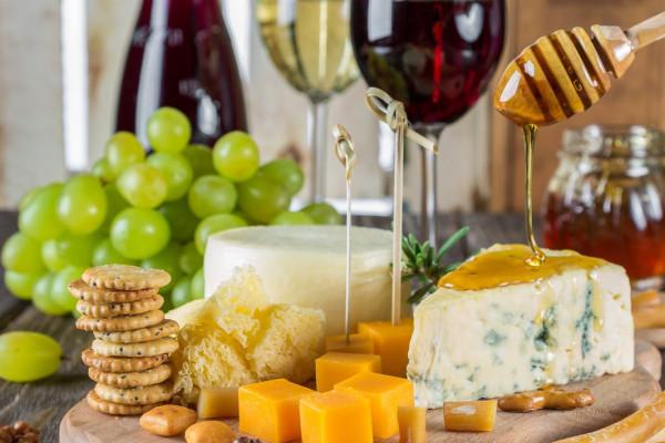 Gutschein für ein Wein und Käse Seminar für 1 Person