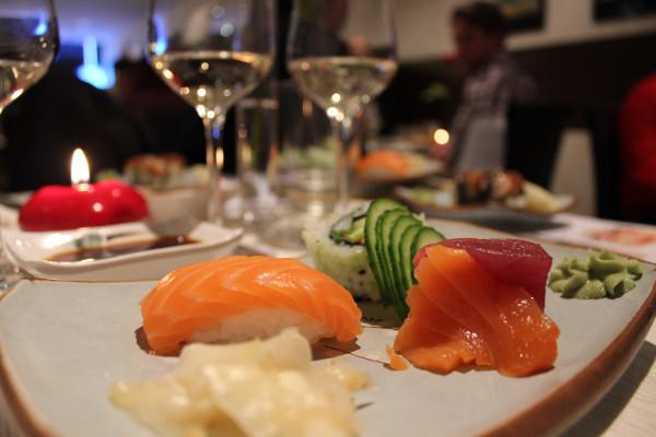 Gutschein für ein Wein und Sushi Seminar für 2 Personen