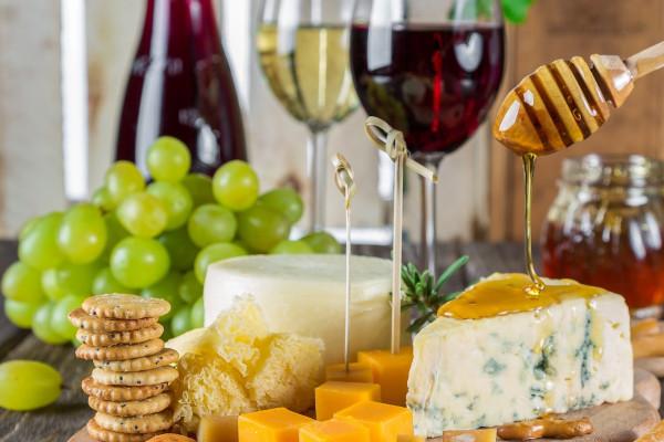 Wein und Käse Seminar