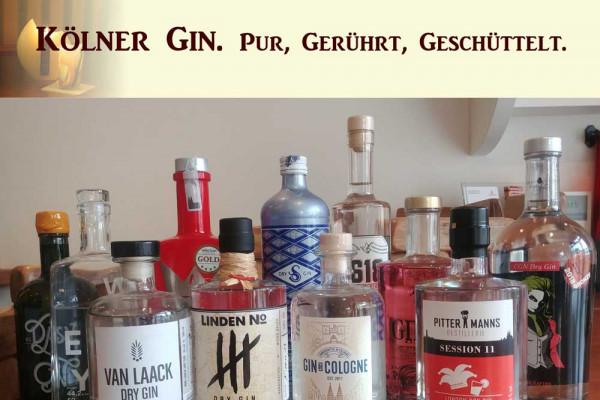 Kölner Gin-Tasting- und -Cocktailkurs Köln