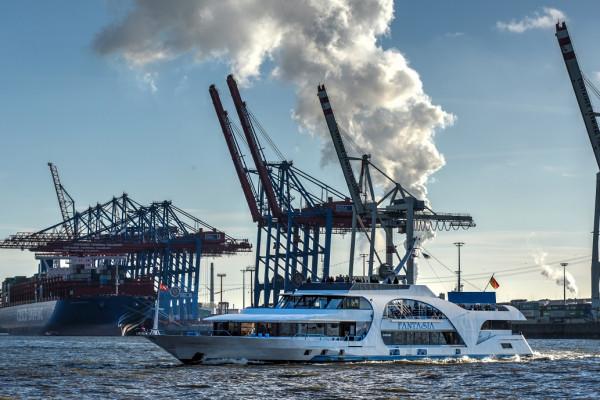 Auch mit den großen Schiffen gibt es viel zu erleben