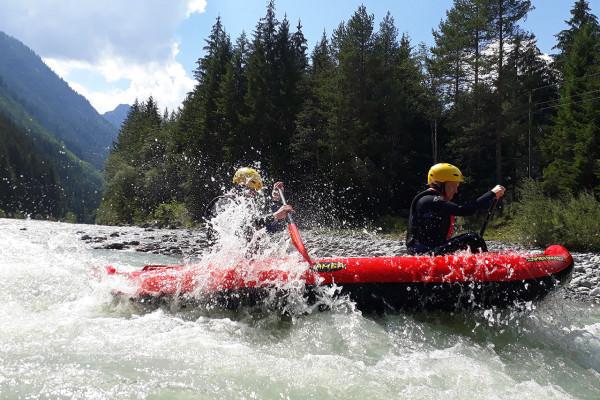 XL Rafting Tour auf der Iller mit MAP-Erlebnis
