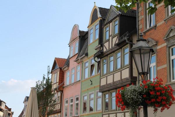Historisches Fachwerk in der Helmstedter Altstadt, Foto: Stadt Helmstedt