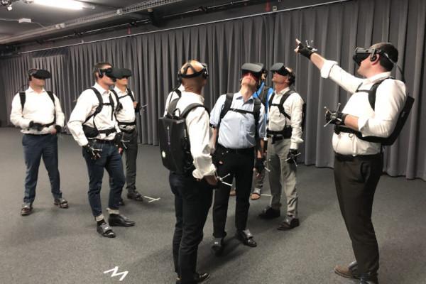Social Virtual Reality - Besichtigungen mit bis zu 10 Personen