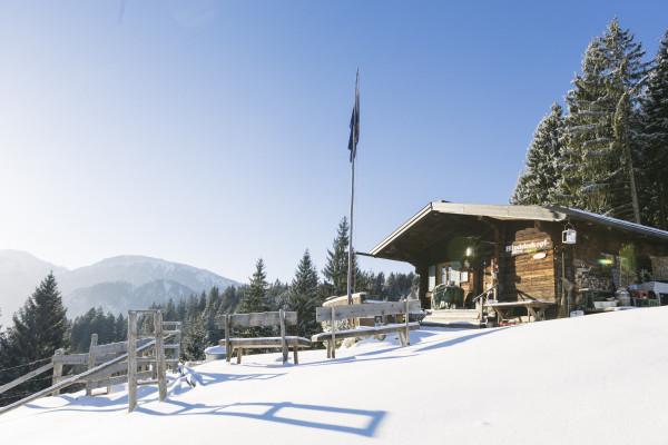 Schneeschuhtour zur Hündeleskopfhütte