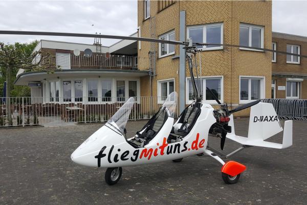Gyrocopter am Flugplatz Stadtlohn Vreden