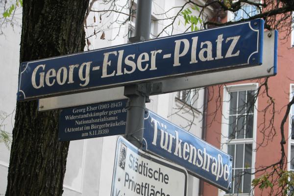 Ein kleiner Platz für Georg Elser