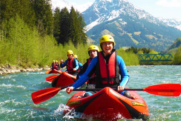 Der Rafting Klassiker - Canadier Tour auf der Iller