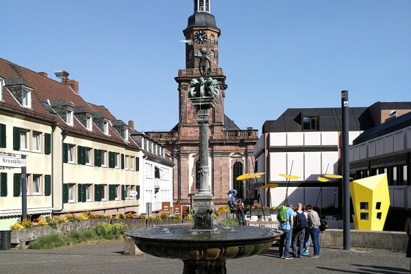 Treffpunkt, Brunnen auf dem Schlossplatz