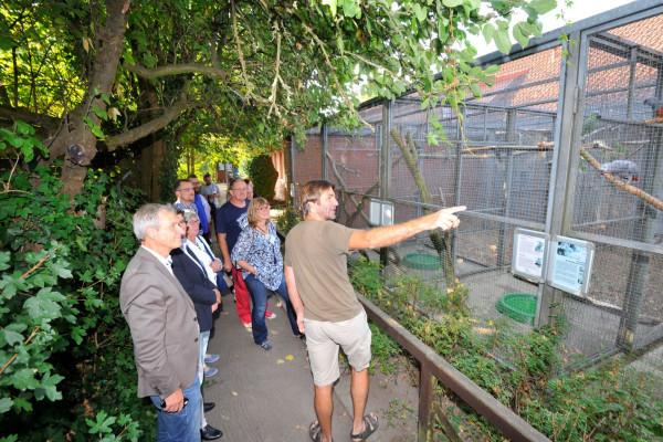 Führung im NABU-Artenschutzzentrum, Foto: Südheide Gifhorn GmbH/Frank Bierstedt