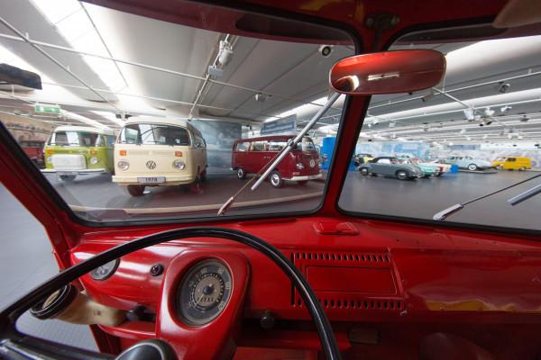 Blick in die Ausstellung, Foto: Stiftung AutoMuseum Volkswagen
