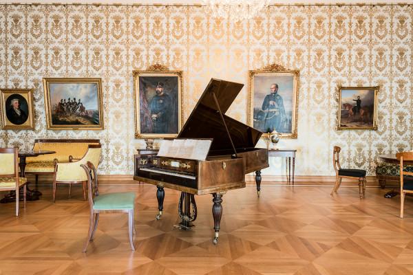Musikzimmer im Schlossmuseum Braunschweig, Foto: M. Küstner