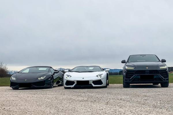 Lamborghini Huracan Spider, Lamborghini Aventador Roadster, Lamborghini Urus