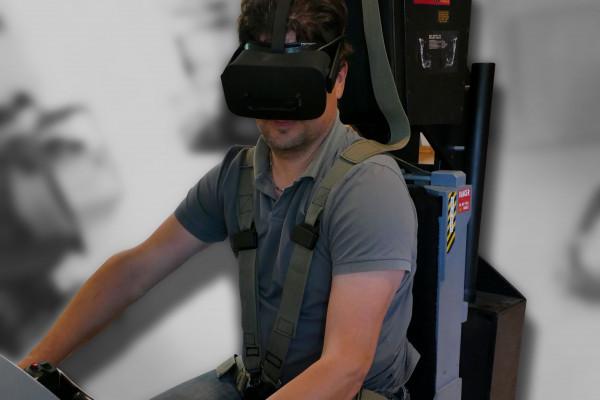 VR Brille und Motion Seat