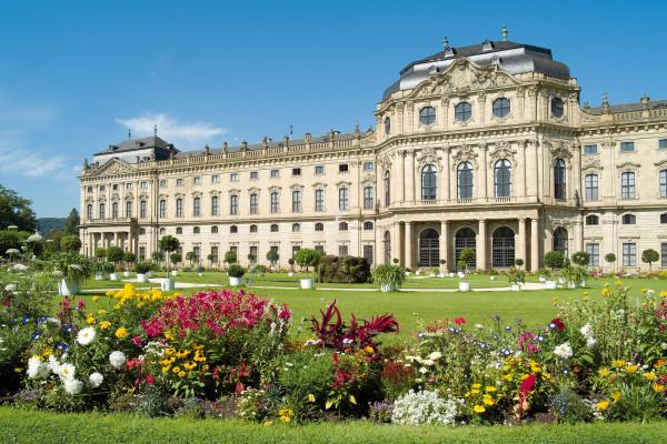 UNESCO-Welterbe Residenz Würzburg und Hofgarten