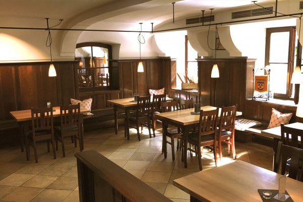 Das Zollhaus ist der Treffpunkt für alle Genießer in Landshut