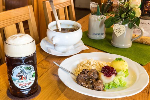 Die Brauerei Eck ist der Treffpunkt für alle Genießer im Bayerischen Wald