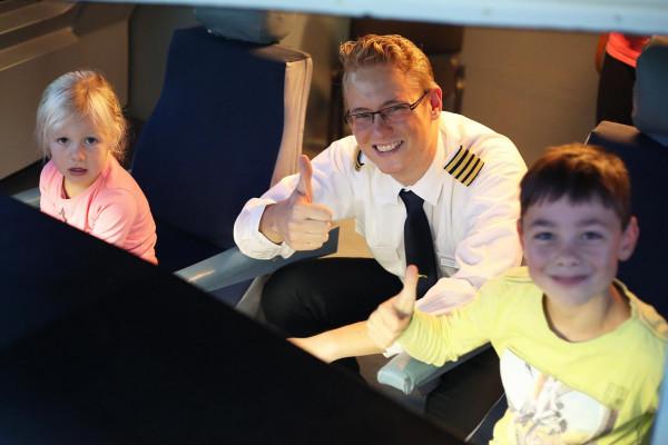 Dein Kindergeburtstag bei JetSim, wird außergewöhnlich und unvergesslich!