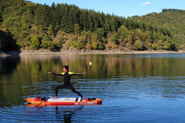 Yoga SUP after work