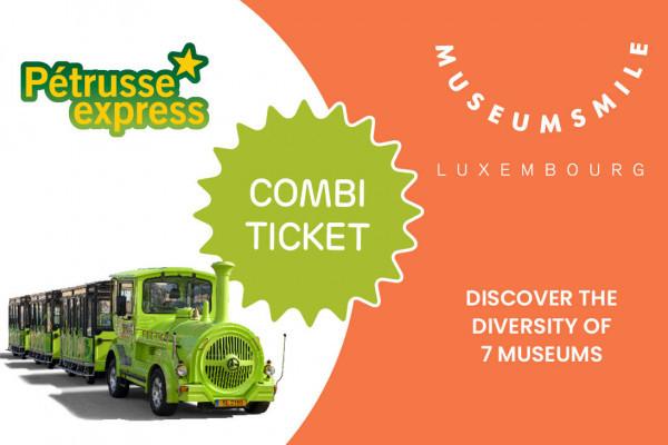 Pétrusse Express Kombi-Ticket Museum Pass