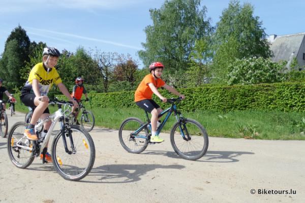 Bike the school - geführte Fahrradtour für Schulklassen