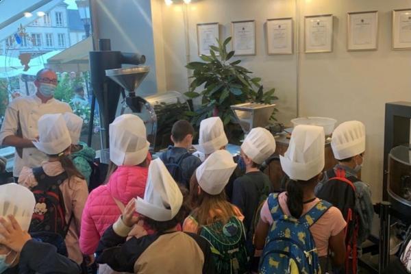 Schokoladenkurs für Kinder in der Schokoladenfabrik Chocolate House