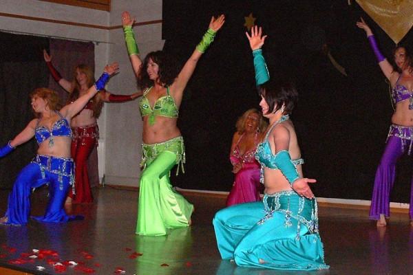 Showgruppe Tanzschule Palmyra