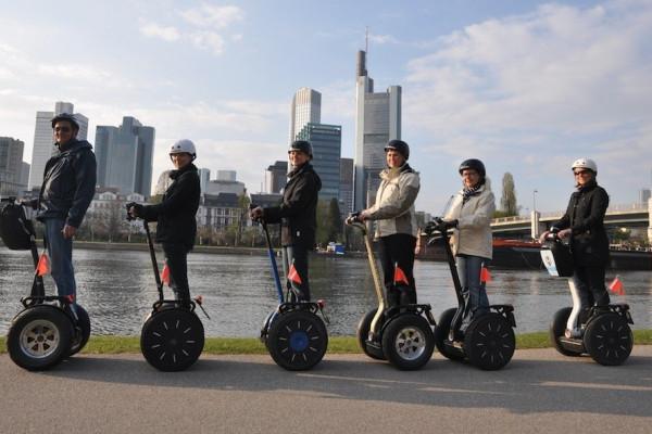 Segway-Tour Skyline in Frankfurt am Main
