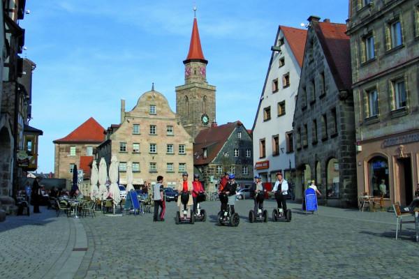 Segway-Tour durch Fürth