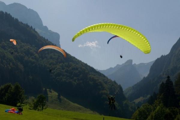 Schnupperkurs im Paragliding