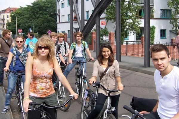 Fahrradtour durch Leipzig