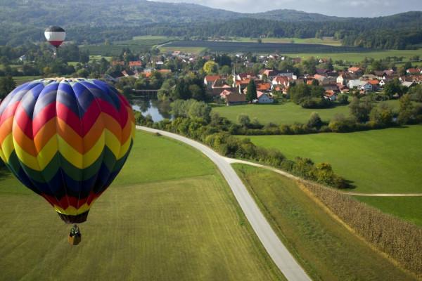 Ballonfahrt in Bamberg