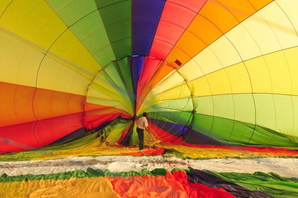 Ballonfahrt in der Region Ansbach