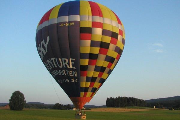 Ballonfahrt in der Region Neumarkt in der Oberpfalz