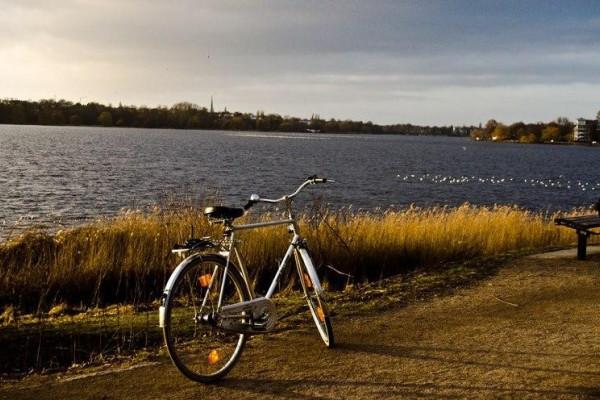 Fahrradtour entlang der Alster