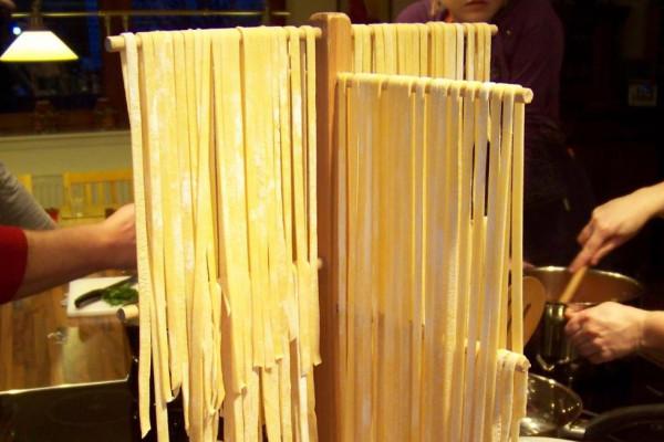 Frische Pasta beim Kochkurs Norditalienische Pastaküche - Pasta selbst gemacht