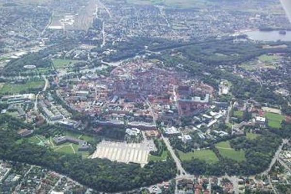Rundflug über Ingolstadt ab Greding mit einem Ultraleicht-Flugzeug