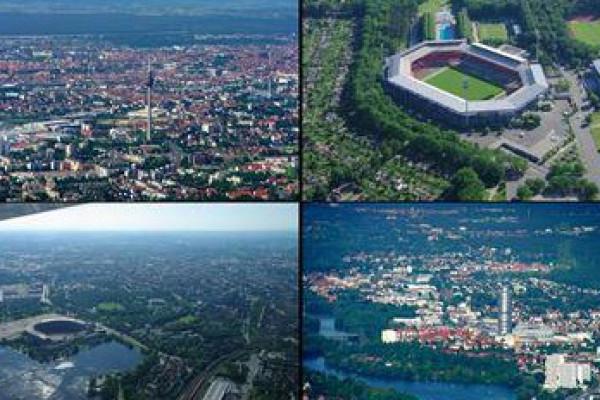 Rundflug über Nürnberg