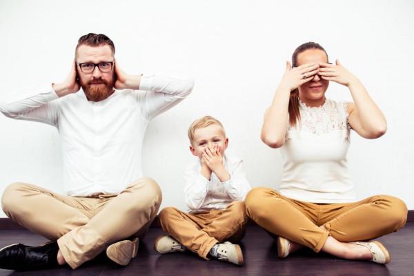Spaß für die ganze Familie beim Fotoshooting