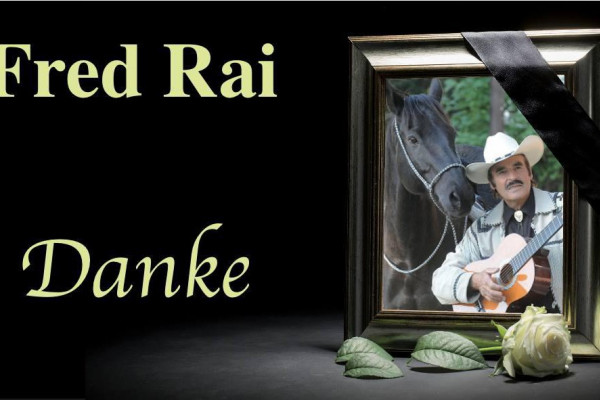 Fred Rai 1941 - 2015