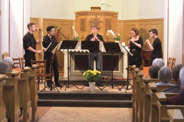 """""""Jugend Musiziert"""" - Konzert mit verschiedenen Ensembles in der Caputher Kirche"""