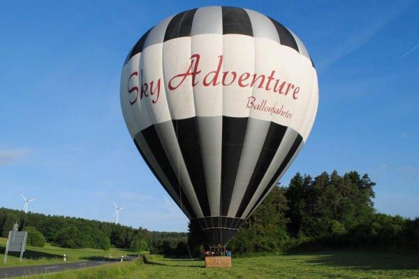 Ballonfahrt in der Region Fürth