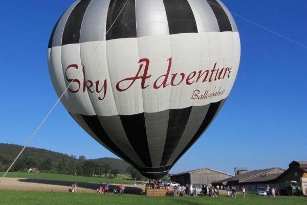 Ballonfahrt in der Region Regensburg
