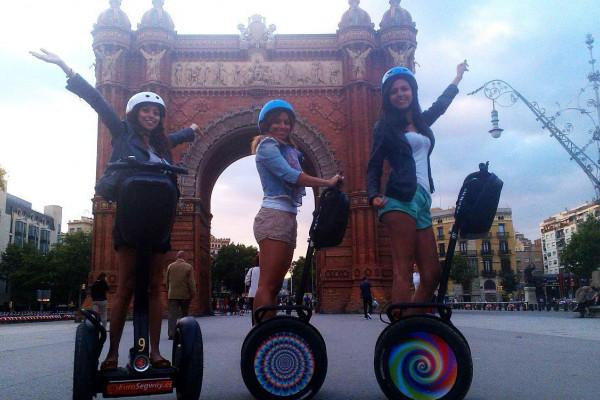 Segway-Tour durch Barcelona