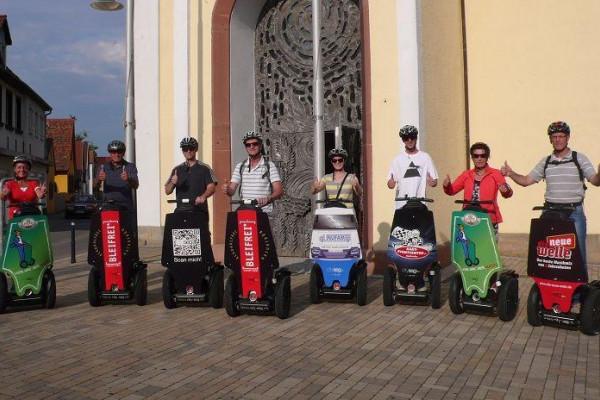 Segway-Tour in Karlsruhe