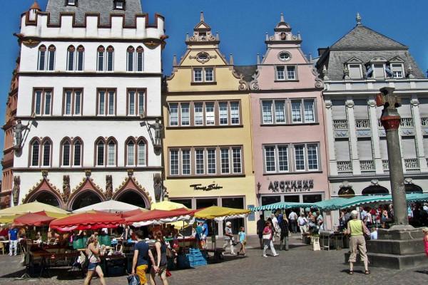 Trier - eine alte Stadt in Deutschland