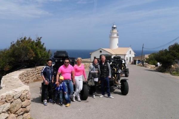 Buggy-Tour auf Mallorca in Cala Millor