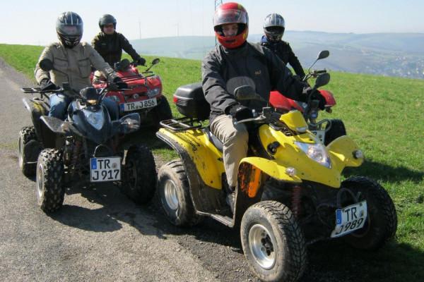 Quad-Tour bei Trier